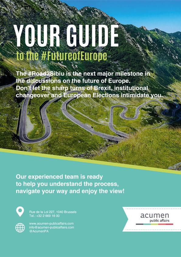 Acumen Public Affairs Advert
