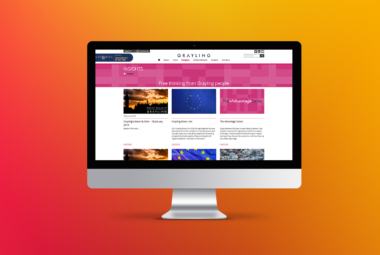 Grayling Web Screen
