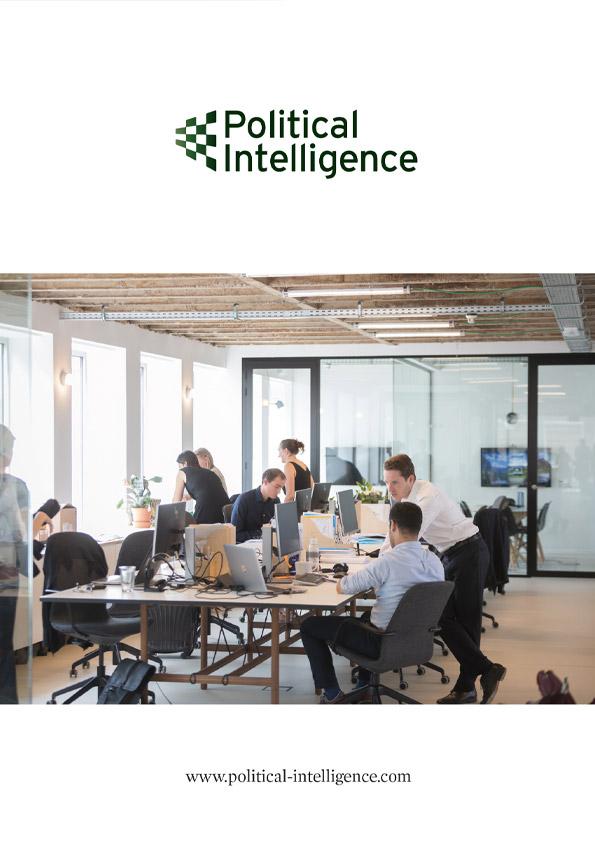 Political Intelligence Advert