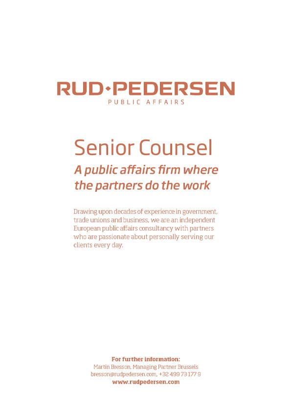 Rud Pedersen Advert
