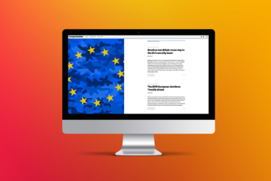 Europe Decides Web Screen